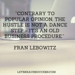 hustling quote