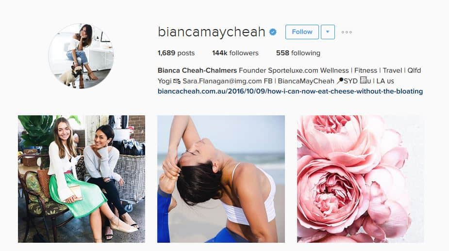 bianca may cheah instagram account strategy - letsreachsuccess.com
