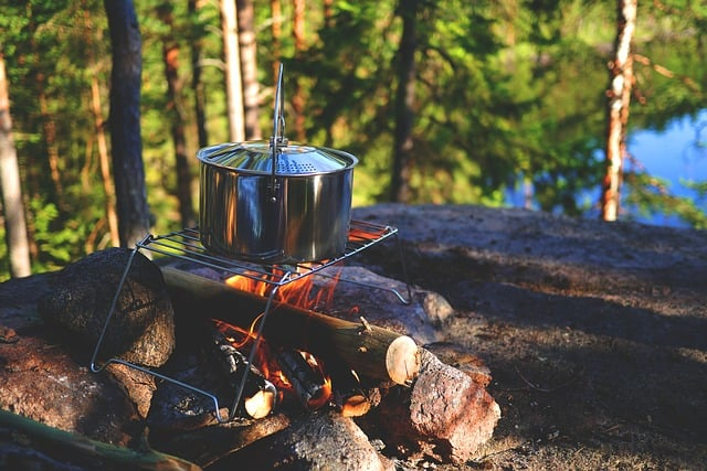 going camping - activities, tips